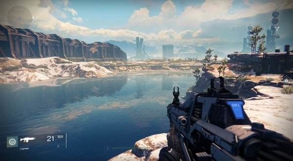 Destiny features some truly stunning locations