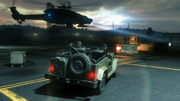 Metal Gear Solid V Ground Zeroes Jeep