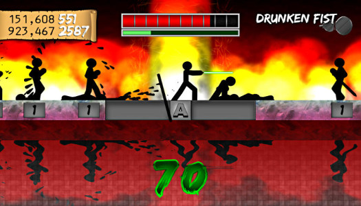 One Finger Death Punch Review – You've Got The Touch