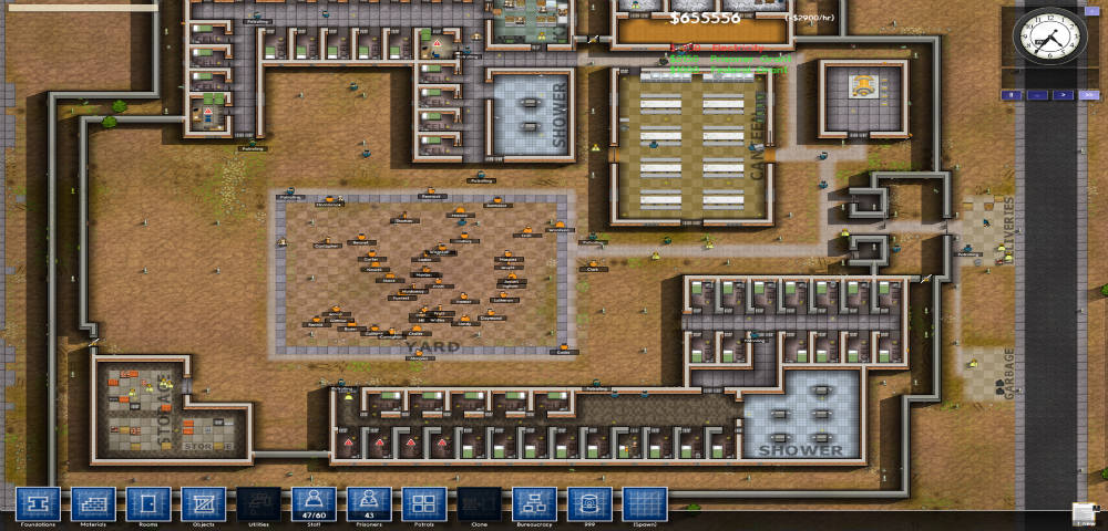 Prison Architect Kept Simple