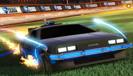 Back To The Future's DeLorean is Coming to Rocket League