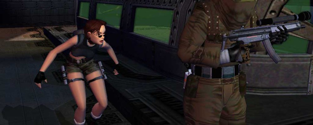 Tomb Raider: Angel of Darkness sneaking