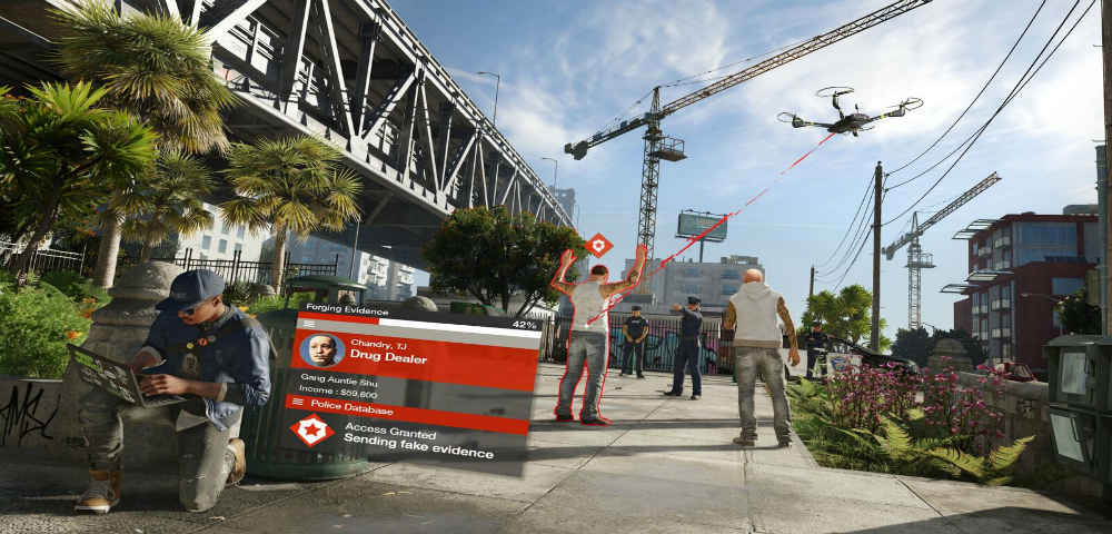 Watch Dogs 2 hacking