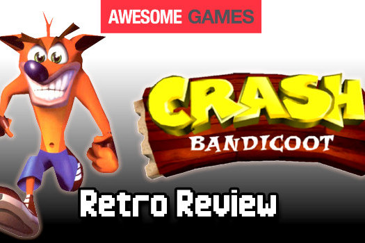 crash bandicoot video retro reflection