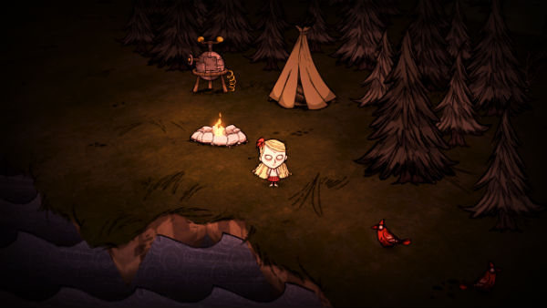 dont starve camp