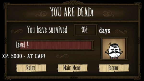 dont starve death