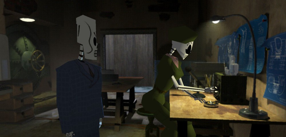 Grim Fandango - now theres a game with an ironically meaty plot.