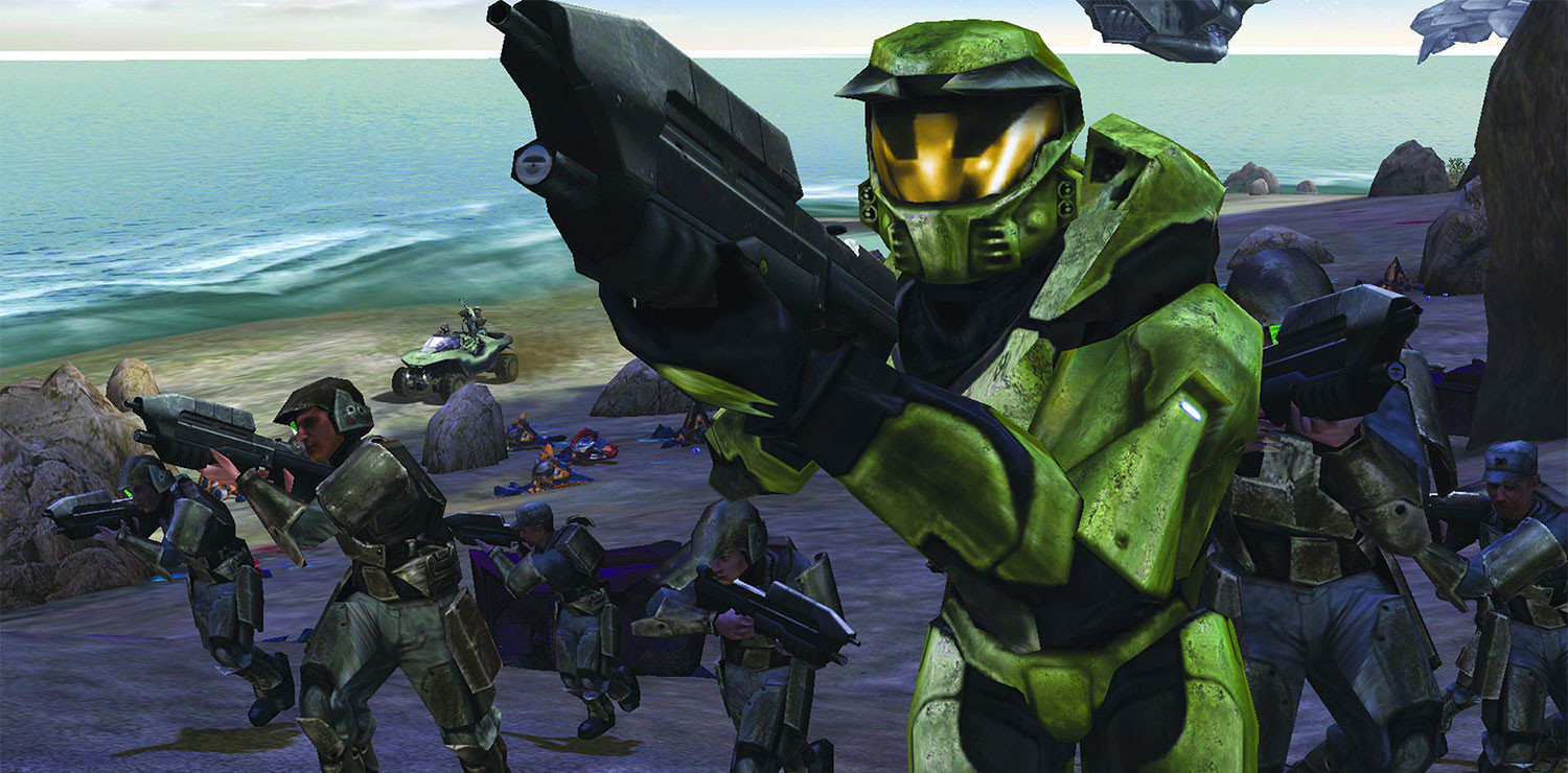 Halo Combat Evolved feature