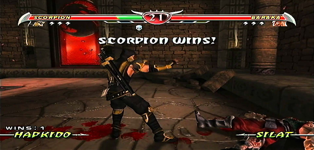 mortal kombat deception retro