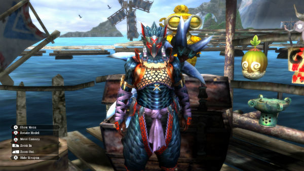 monster hunter 3 ultimate armour