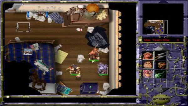small soldiers squad commander bedroom