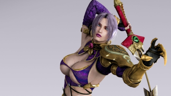 If only Namco could move on from Ivy's breast size to developing the actual game...