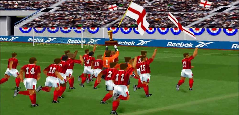 International Superstar Soccer Pro 98 retro reflection