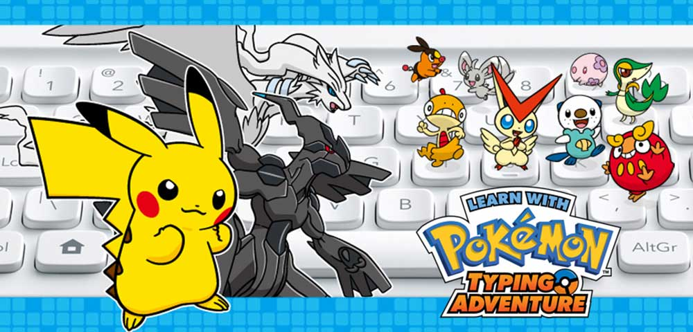 Learn With Pokemon: Typing Adventure retro reflection