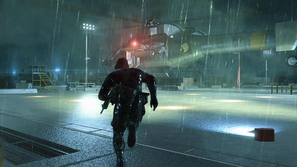Metal Gear Solid V Ground Zeroes Rain
