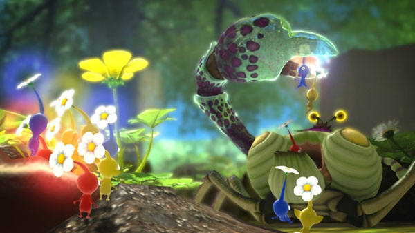 Pikmin 3 Crab battle