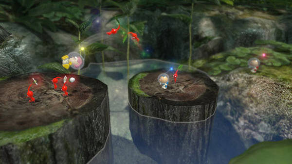 Pikmin 3 character toss