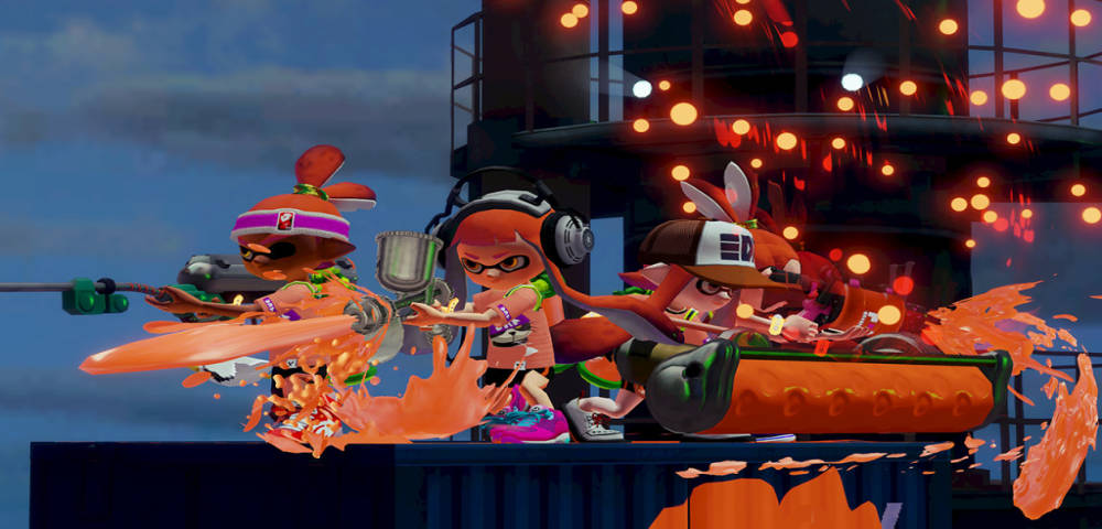 Splatoon Splatfest team