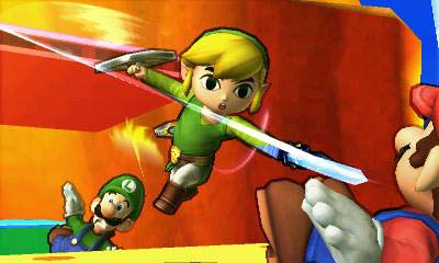 Super Smash Bros. 3DS Toon Link