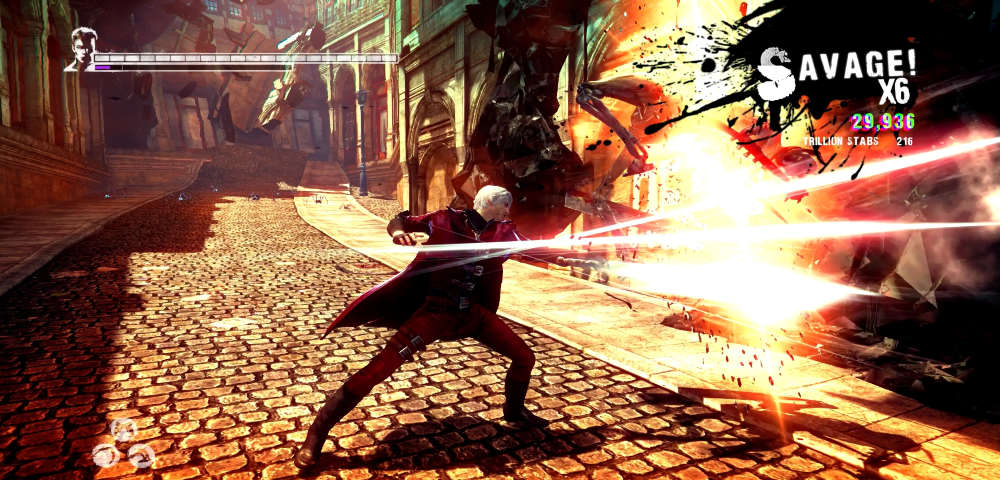 DmC: Definitive Edition combat