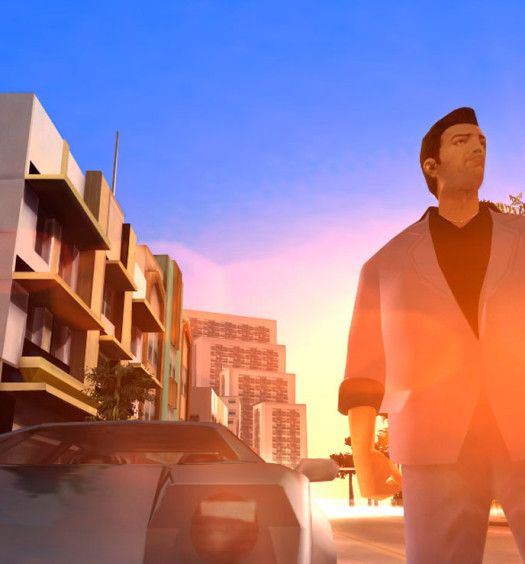 gta vice city retro reflection