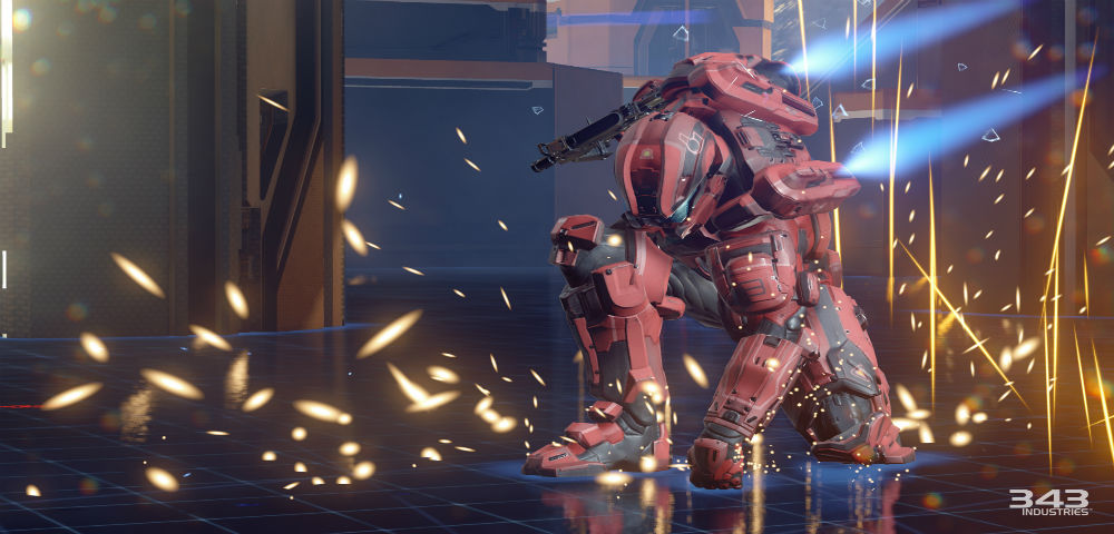 Halo 5: Guardians ground pound