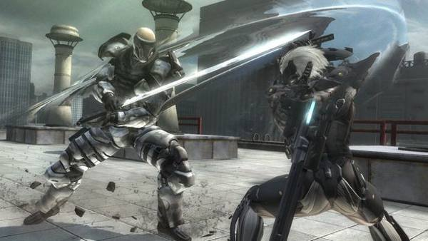 metal gear rising revengeance sword fight