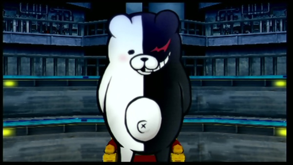 Monokuma is one of the greatest villains in recent memory, and he's as delightfully evil as ever here.