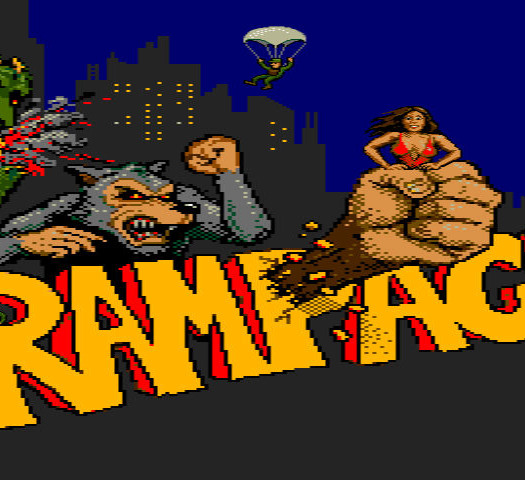 Rampage retro reflection