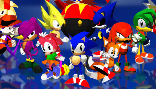 Sonic The Fighters Retro Reflection