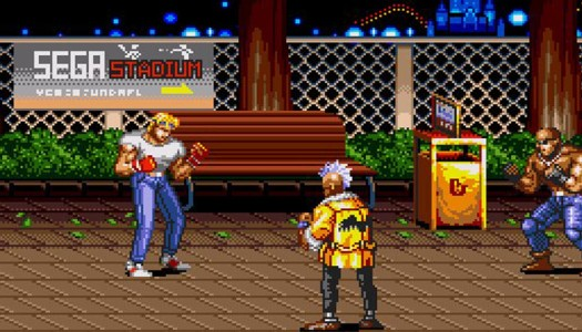 Streets Of Rage 2 Retro Reflection