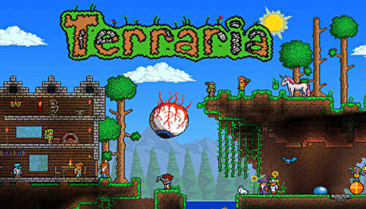 Terraria Review – Mine, Mine!