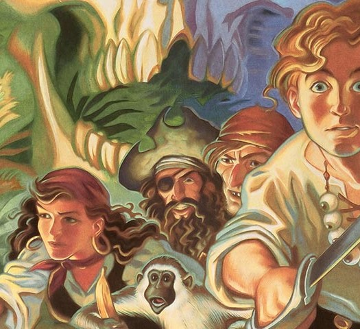 the secret of monkey island feature