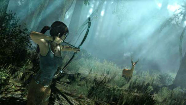 tomb raider deer hunter