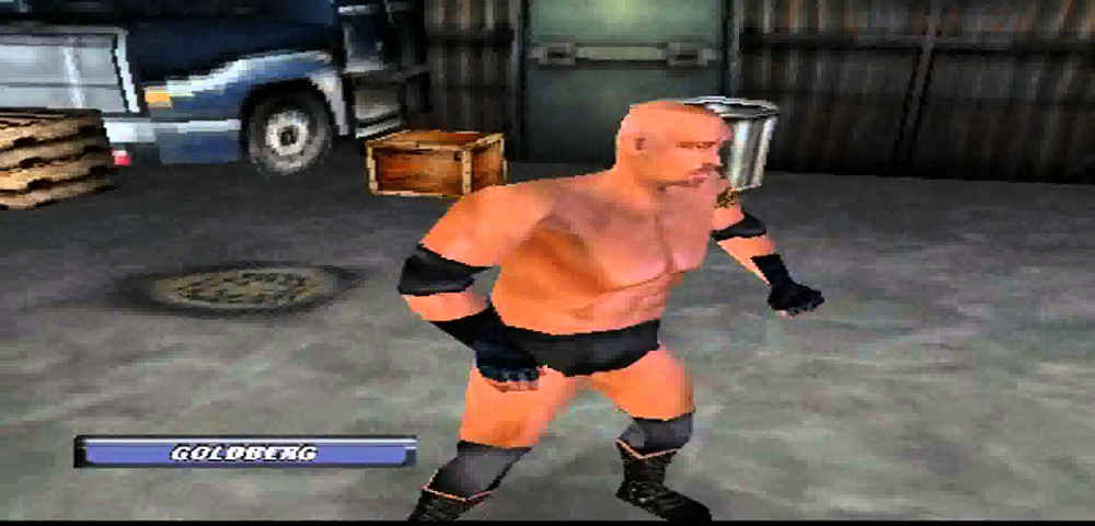 WCW Backstage Assault worst wrestling games