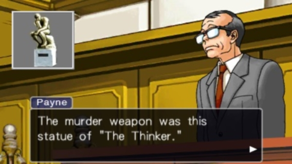 Many characters in the series have puns as names. Winston Payne is one of them.