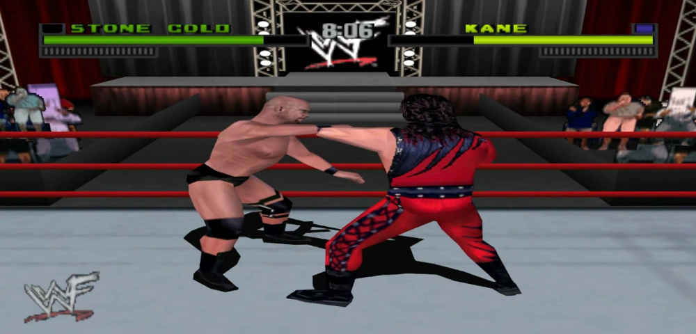 WWF Attitude best wrestling games